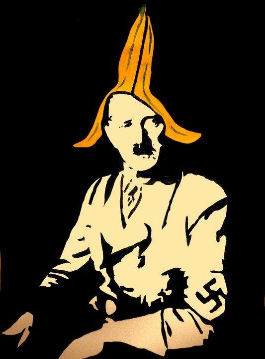 Hitler banana hat