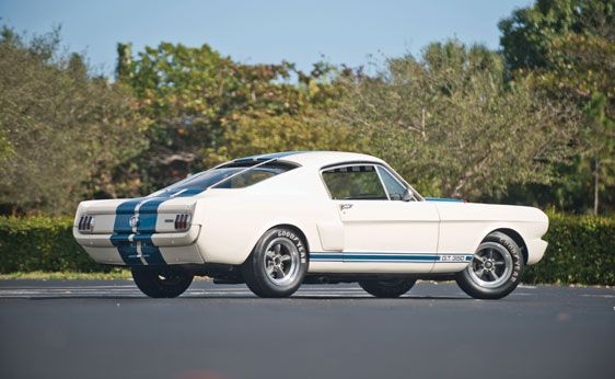 1966 Shelby GT 350 Fastback