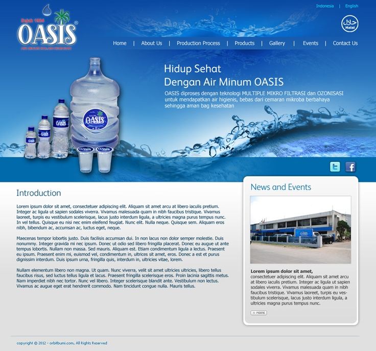 """oasis """"home"""" - www.orbitbumi.com"""