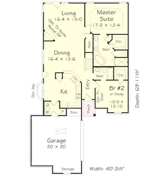 1000 Ideas About Narrow House Plans On Pinterest Narrow