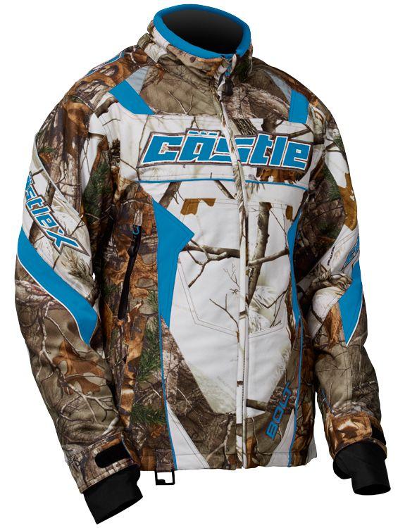 7a68b1a37 Womens Bolt Realtree G4 Camo Jacket • Castle X Snow Gear | Women's Snow  Jackets | Womens snowmobile jackets, Snowmobile clothing, Castle jackets