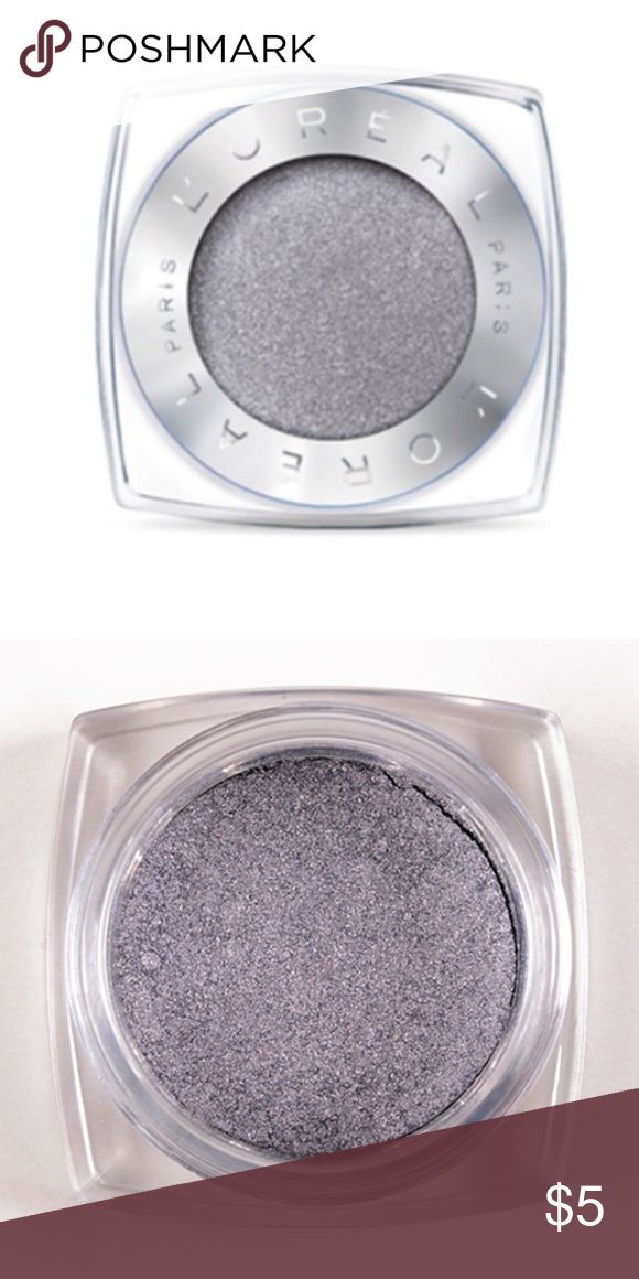Brand New L'Oréal Paris Infallible 24HR Eyeshadow Brand New L'Oréal Paris Infallible 24HR Single Eyeshadow (currently retailing for $8) in the shade '996 - Liquid Diamond' ... only ever swatched!  -Intense, maximized color -Luxurious powder-cream texture -24-hour long-lasting hold -Waterproof, crease resistant, fade resistant L'Oreal Makeup Eyeshadow