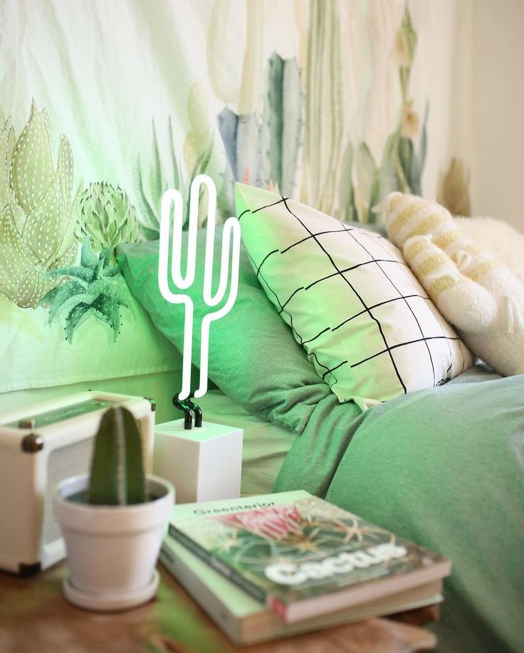 Find This Pin And More On Smeags+Hailey By Haileyscott3. Neon Cactus In The  Bedroom.