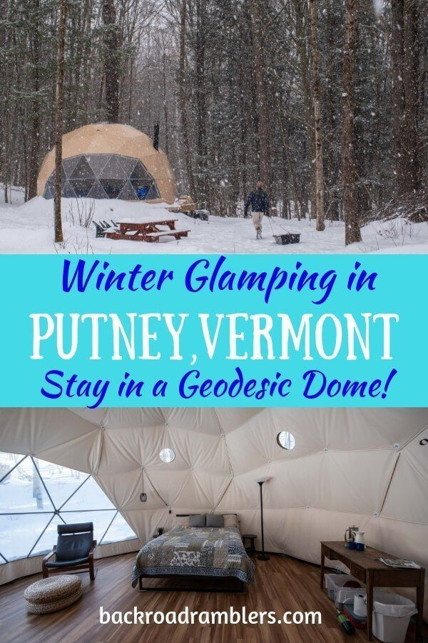 Fabulously Romantic Winter Glamping In Vermont Putney Vermont