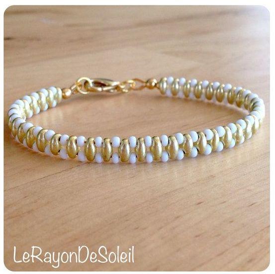 beaded bracelet: SuperDuo