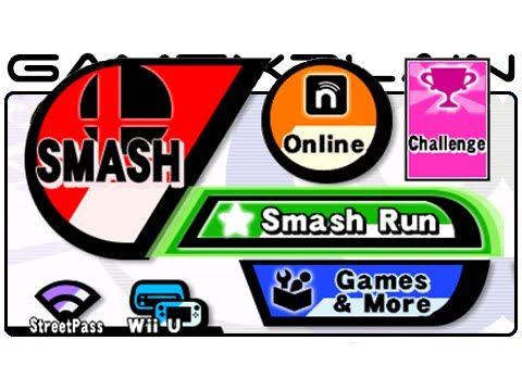 Super Smash Bros 3DS Menu Music