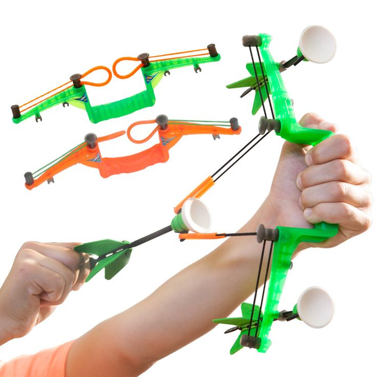 New Safety Bow and Arrow Toys for Children's Outdoor Fun Sport,Zing Mini Curve Bow Indoor Combat Bow Arrows Kids Holiday Toy