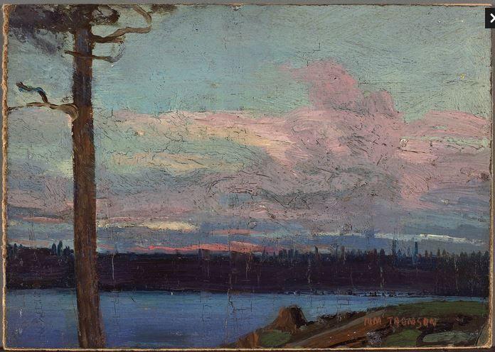 Tom Thomson Catalogue Raisonné | Evening Sky, Spring 1913 (1913.09) | Catalogue entry