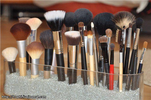 The beauty is my religion. - Кисти для макияжа. Хранение и уход.