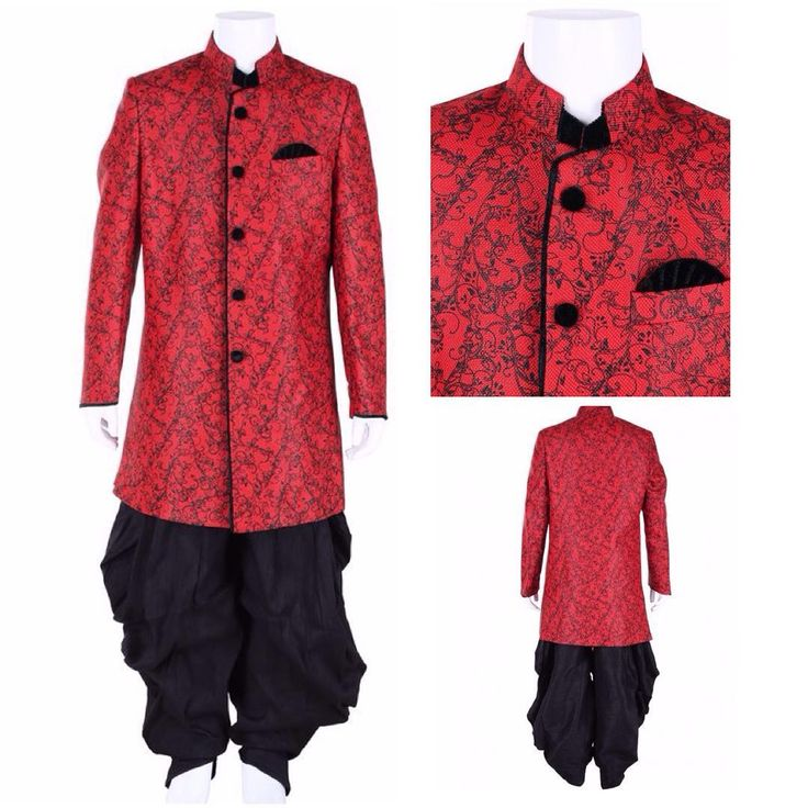 G3 Exclusive Red Black Jute Boys Wedding Indo Western. To View more collection at www.g3fashion.com For price or detail do whatsApp +91-9913433322  #g3fashion #IndoWestern #boys #ethnicwear #kids #kidsethnicwear #indianestivals #diwali #festivewear #indianwear #indianwedding #instadaily #indianfashion #kidsfashion #online #shopping #kidswear #vibrant #india #indianmoms #diwali #boyfashion