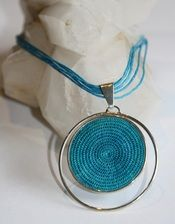 #tintsaba #fairtrade sisal and silver necklace.