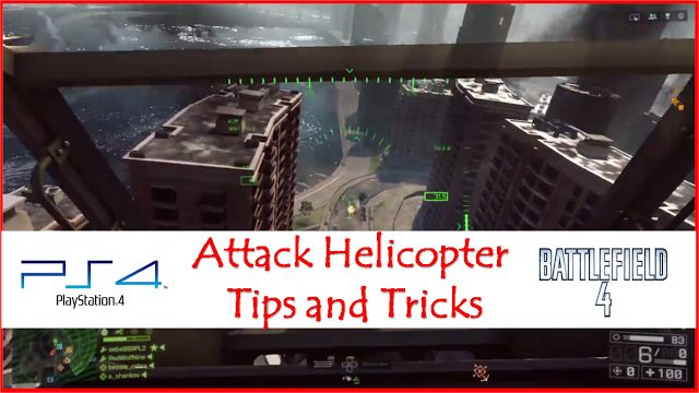 Attack Helicopter Tips - The one who fires first wins... ECM jammers take longer to redploy than flares... When taking damage head back to your Base...     Loadout - Hydra Roackets - Zunis are too slow and Smart are useless... Heatseekers or Tow - Depends if there is an Air Bully ECM Jammer to buy time Air Radar or Stealth Coating