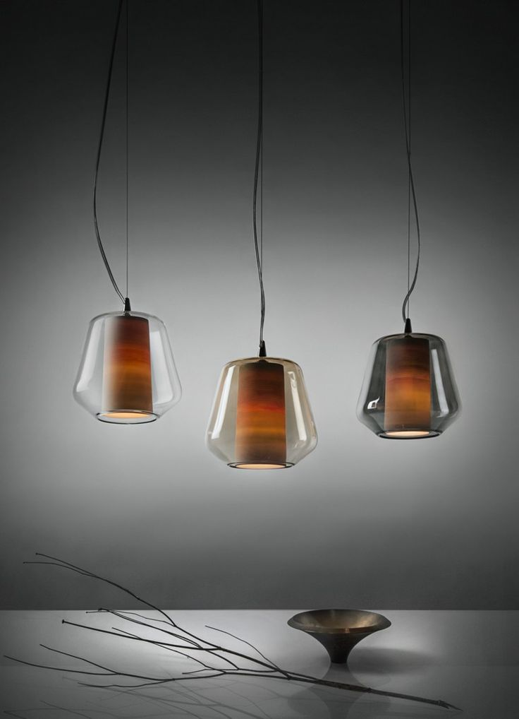 Blown #glass pendant #lamp ETICA by ILIDE italian light design | #design Daniele Gualeni @ilide