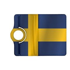 Flag Of Sweden Kindle Fire HD (2013) Flip 360 Case by artpics
