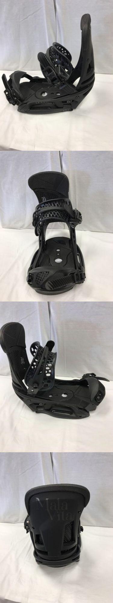 Bindings 21248: Brand New 2017 Burton Malavita Est Snowboard Bindings Size Large -> BUY IT NOW ONLY: $260 on eBay!
