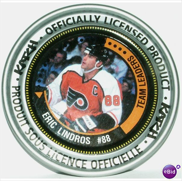 Katch NHL Medallion #158 Eric Lindros #88 Team Leaders 2-3/8 Inch Diameter on eBid Canada