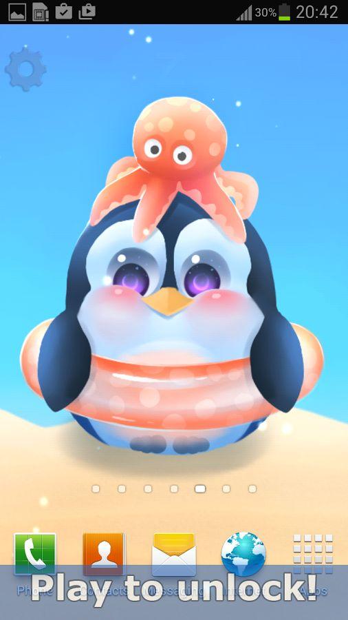 Live Wallpaper Of A Little Penguin