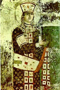 """S. of Russia N. of Turkey on the Black Sea  Tamar of Georgia, 1160-1213.  Tamar took the throne of Georgia on the death of her father, and the Church and court immediately had a conniption. She was the first queen regnant in Georgian history and frankly they were not down. """"This is how it's going to go,"""" they explained. """"You're going to marry this Russian prince we've picked up, and we'll pick your advisors. Eventually you'll have an heir and then we can ignore you."""""""
