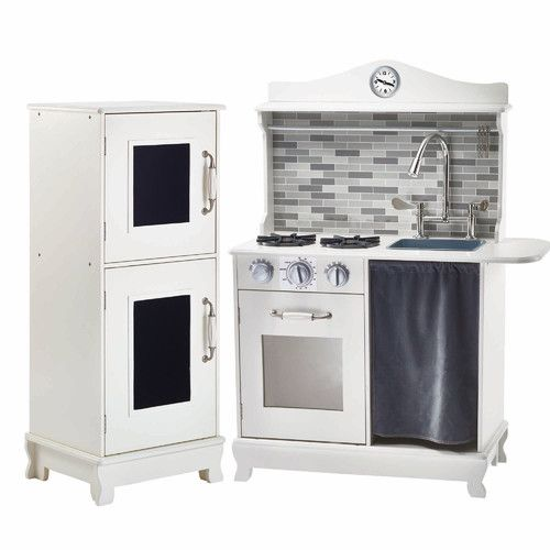 Refinish the Pottery Barn Kitchen to look similar to this!