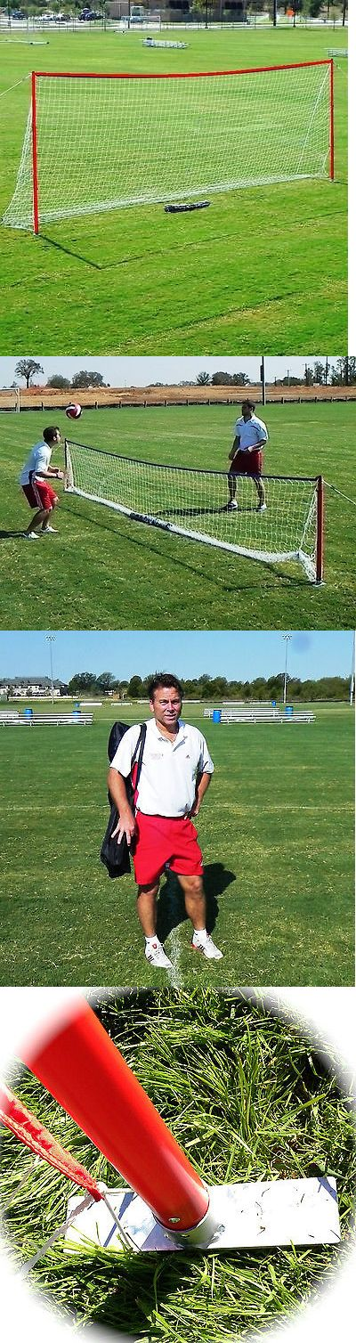 Goals and Nets 159180: Brand New Full Size Portable Soccer Goal 8X24 From Soccer Innovations BUY IT NOW ONLY: $194.99