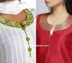 Latest Salwar Kameez Neck Designs photo