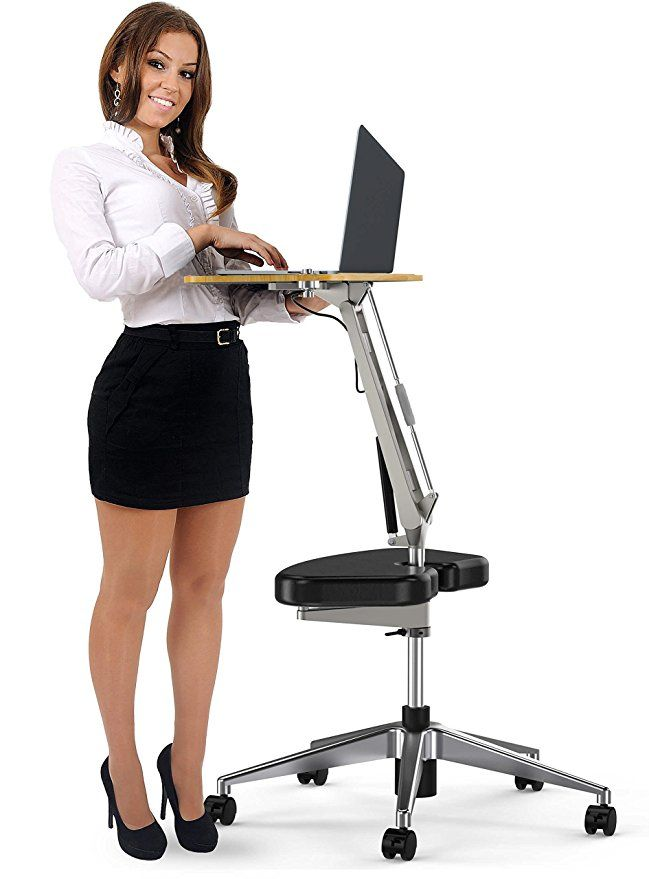 Roomyroc Mobile Laptop Desk Cart Stand With Adjustable Tabletop And Footrest Computer Table Black Laptop Desk Computer Desk Computer Table