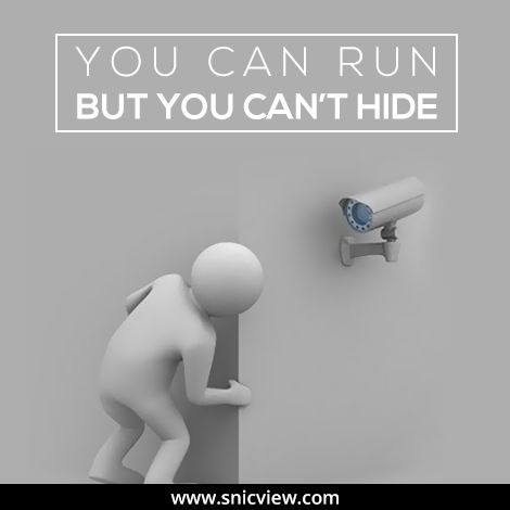 Thinking to escape from our CCTV cameras? Well, it is not possible.