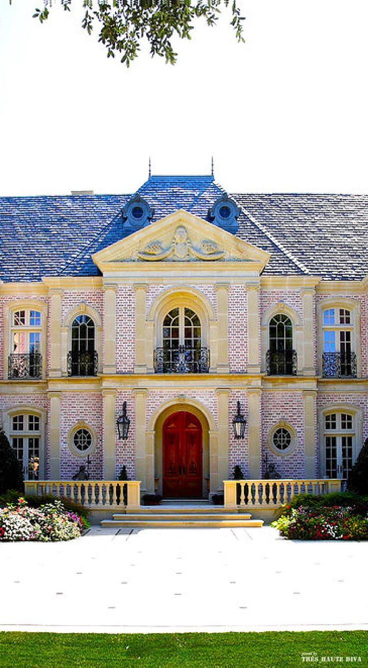 French chateau style exterior new ish classical for French chateau exterior design