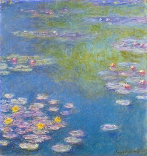 Water Lilies - Claude Monet 1908