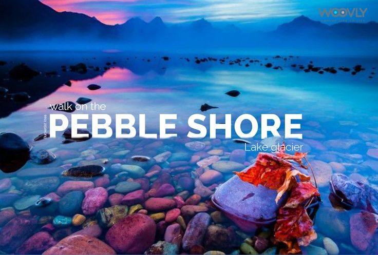 Pebble Shore Lake along with being one of the most colourful and scenically mesmerising parts of the Glacier National Park is also the largest lake in the park.  #bucketlist #travel #glacier #adventure