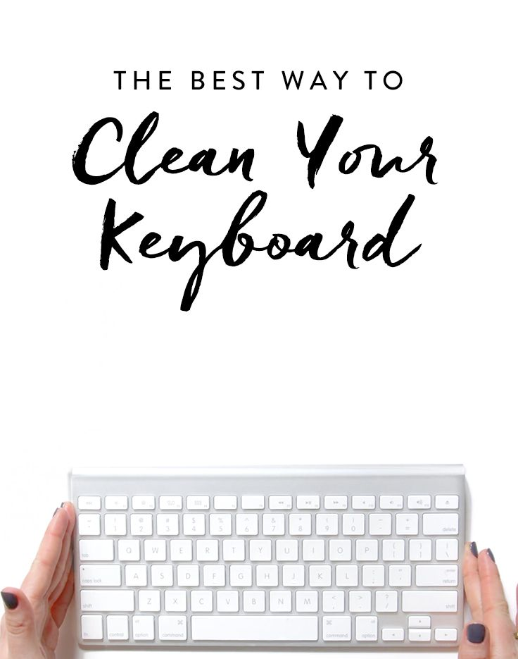 How to Clean Your Computer Keyboard (for Real) via @PureWow