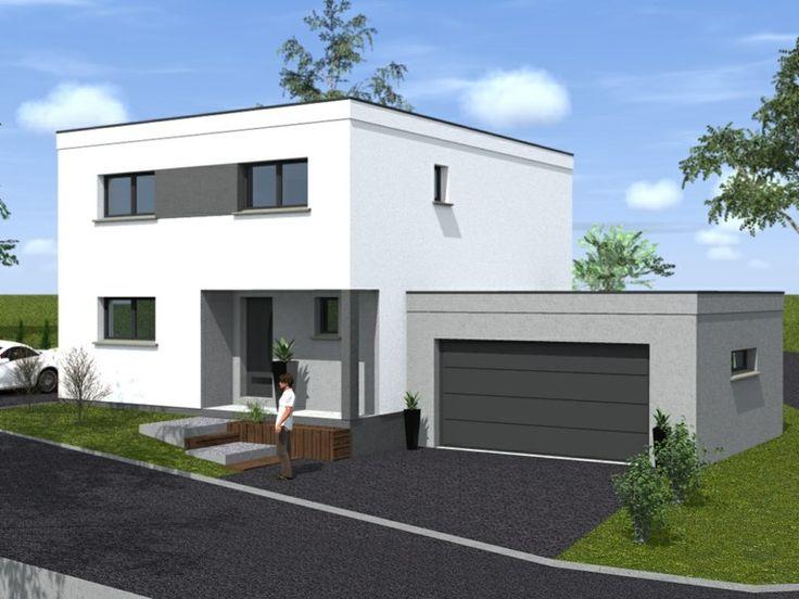 17 meilleures id es propos de maison cubique sur pinterest maisons en bois ossature bois et. Black Bedroom Furniture Sets. Home Design Ideas