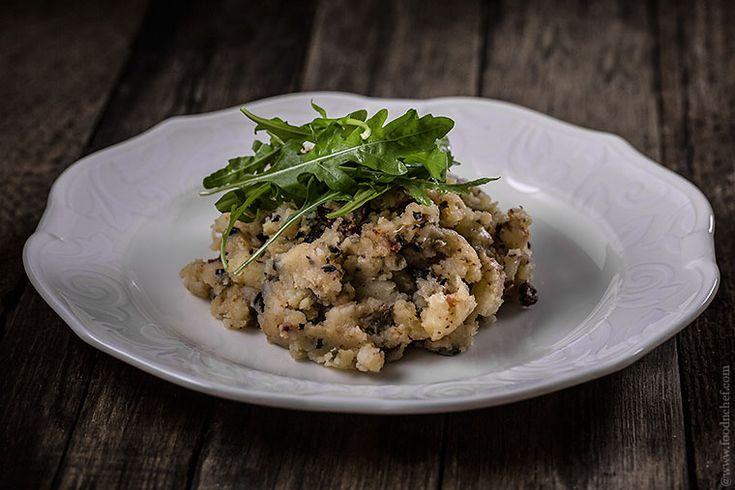 Толченый картофель по-средиземноморски | Food'n'chef