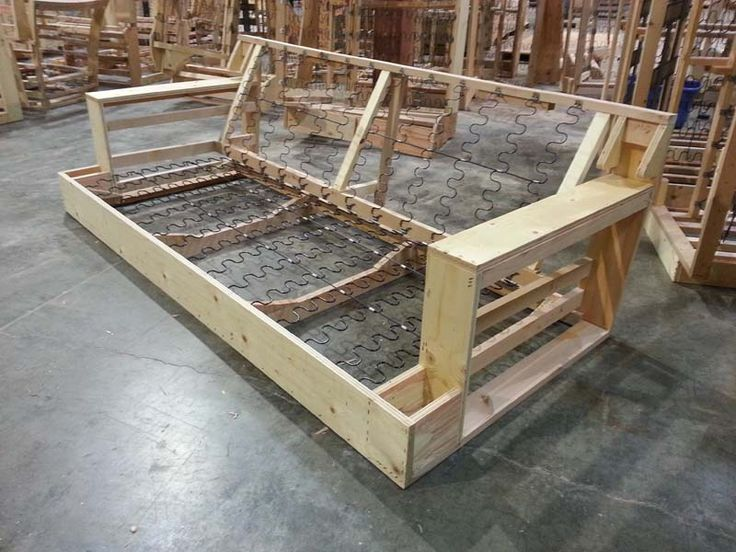 couch frame - Google Search