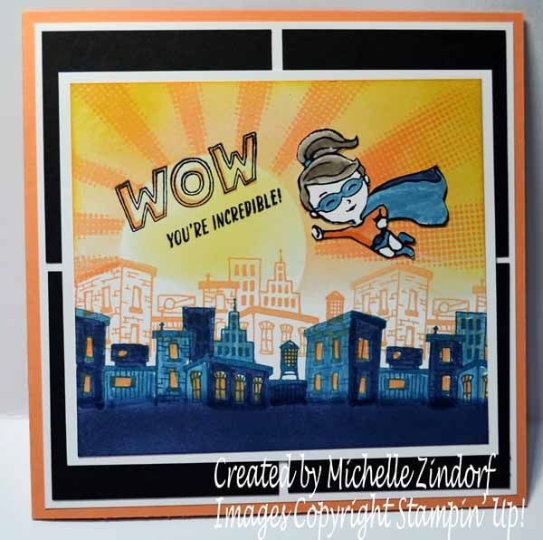 Wow You're Incredible – Stampin' Up! Card |