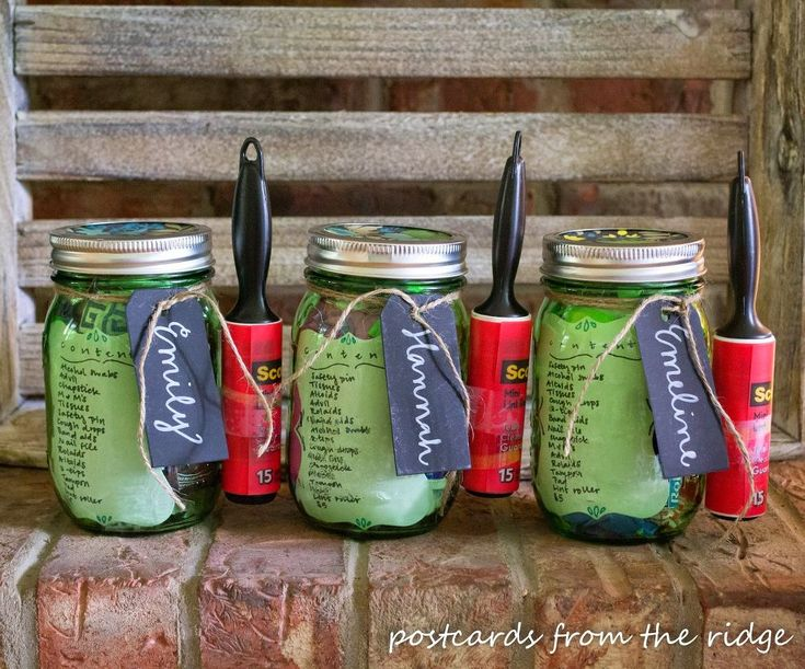 What do you do when have a child who, along with many of her friends, is going off to college? Make them a college survival kit. In a mason jar.…