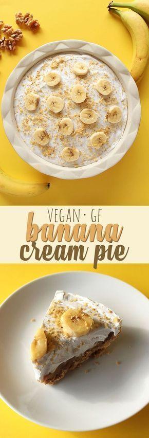 Banana Cream Pie (V, GF)