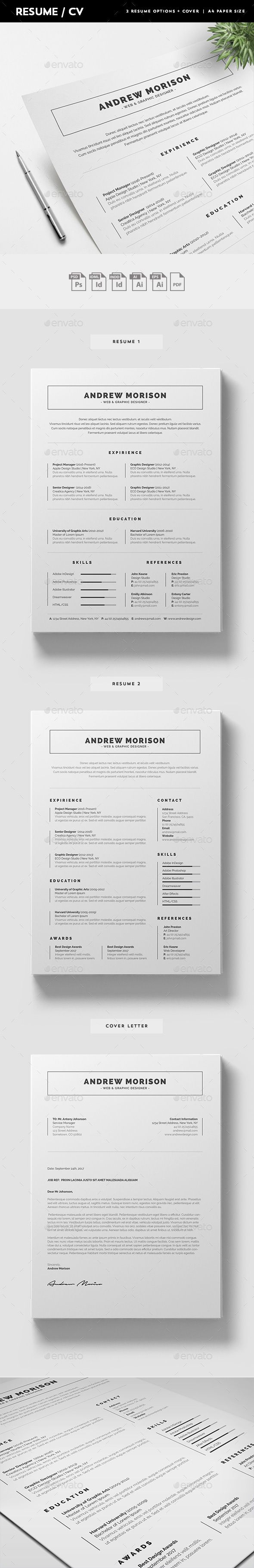 pin by fdesign nerd on resume 2018