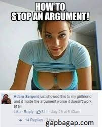 How Stop An Argument