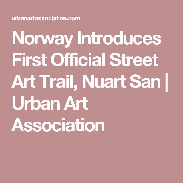 Norway Introduces First Official Street Art Trail, Nuart San | Urban Art Association