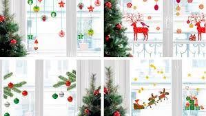 Resultado de imagen para decoracion de navidad ventanas