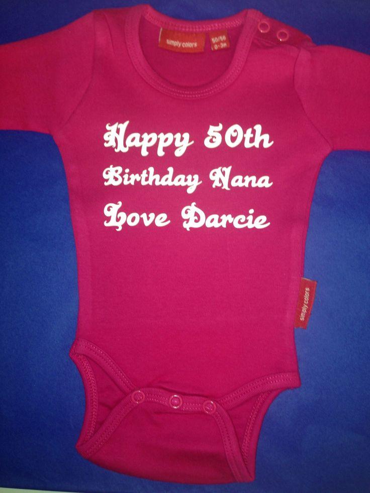 40th Birthday Ideas 50th Gift For Grandma