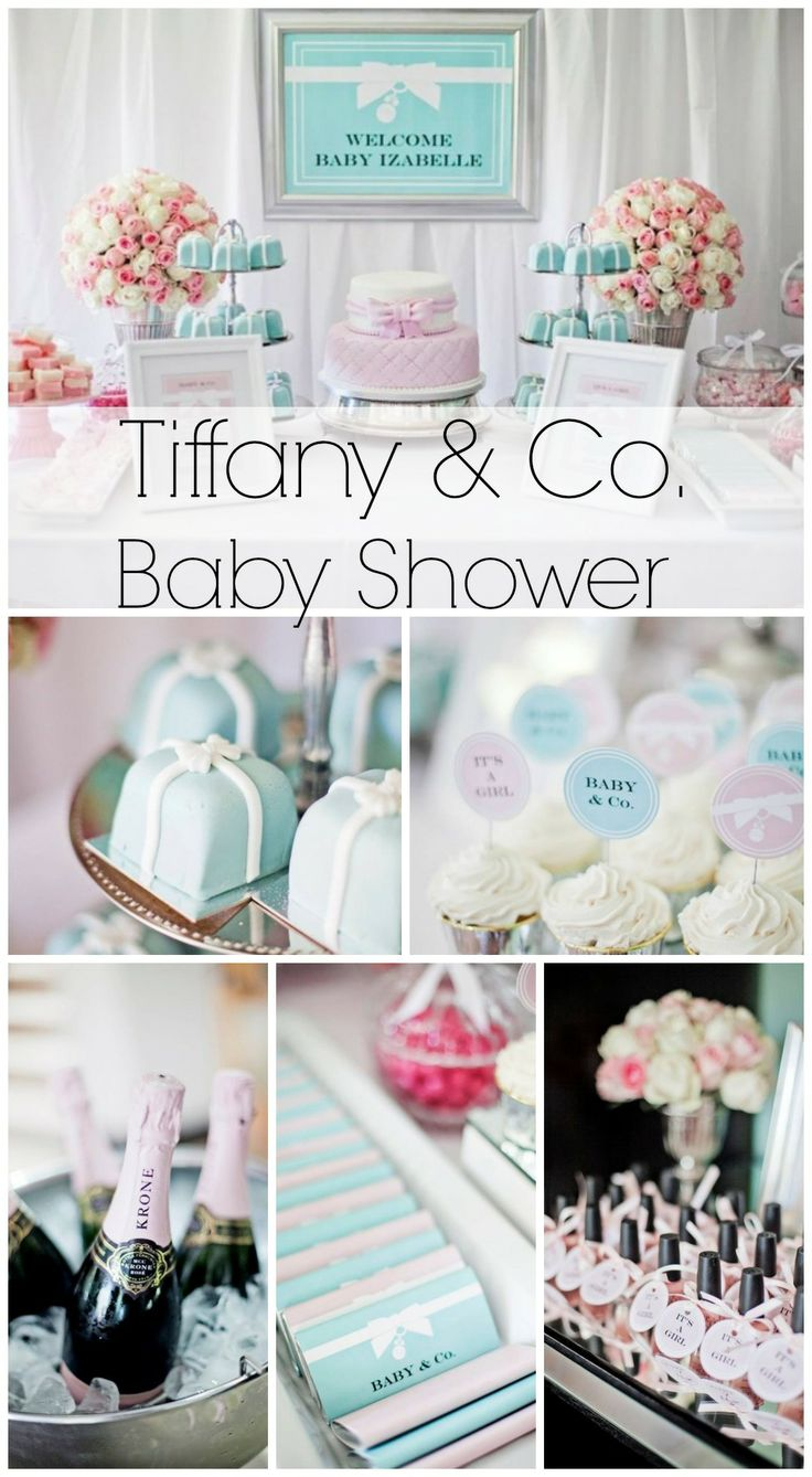 Such A Stunning Tiffany Co. Baby Shower! See More Party Ideas At  CatchMyParty.