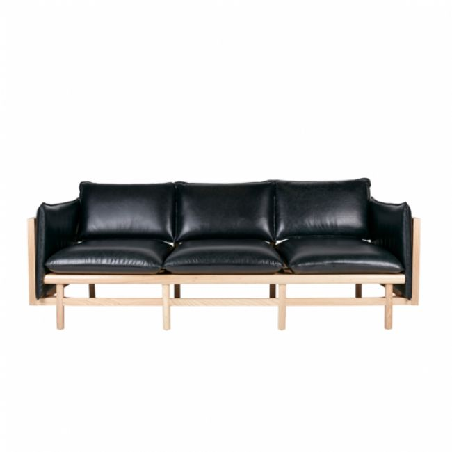 Ryder 3 Seater Sofa -Leather Upholstery