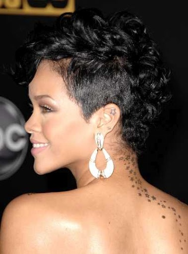 Excellent Rihanna Short Haircut Rihanna And Short Haircuts On Pinterest Short Hairstyles Gunalazisus