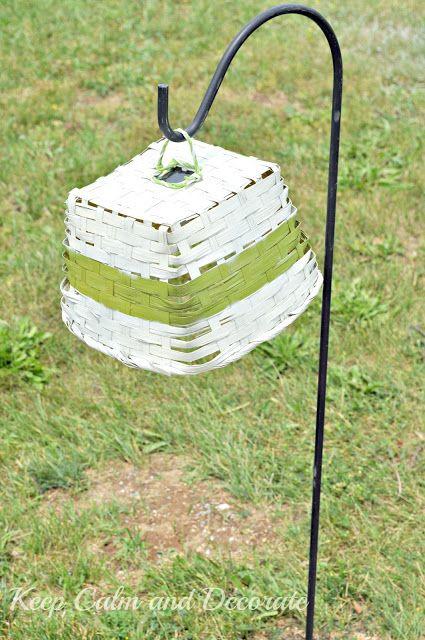 Keep Calm and Decorate: Solar Light Basket