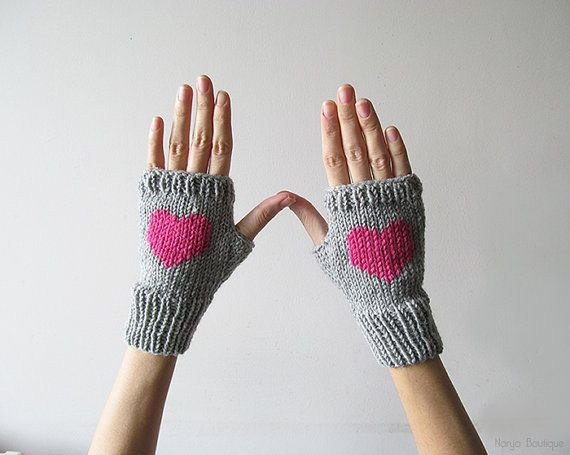 This fingerless gloves will keep your or your loved ones wrists and hands warm. ♥ They are knitted from a quality wool - acrylic yarn.  50% wool