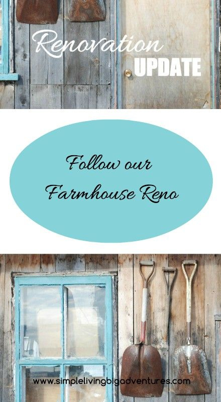 We're updating an old farmhouse and moving to a simpler life of homesteading. Follow our journey...