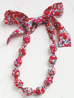 Fabulous Fabric Necklace - Interweave
