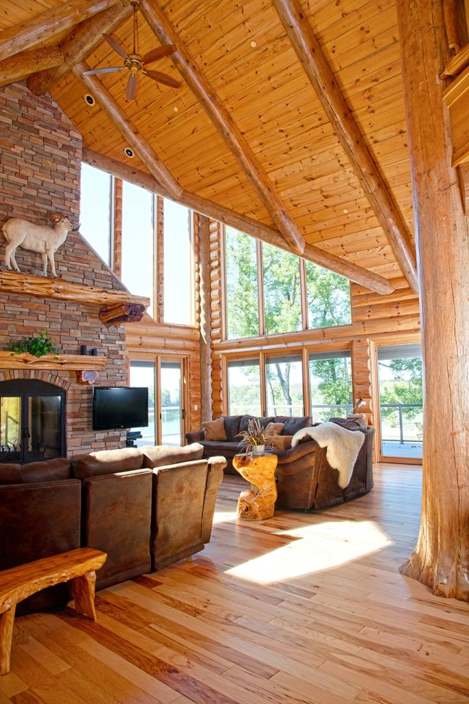 33 Best Images About Great Rooms By Wisconsin Log Homes - National